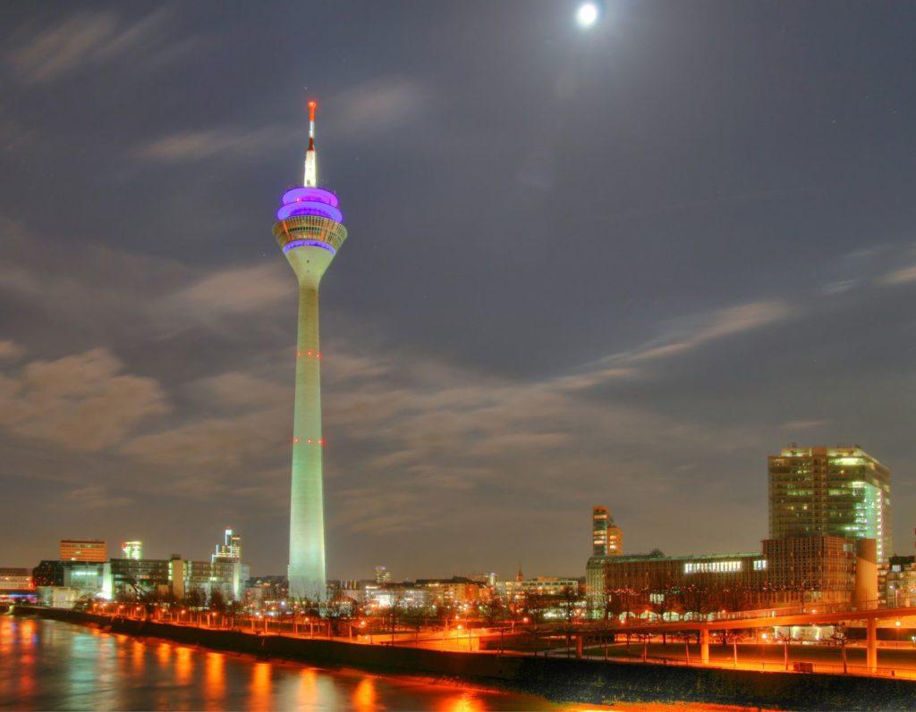 Телевизионная башня Дюссельдорфа