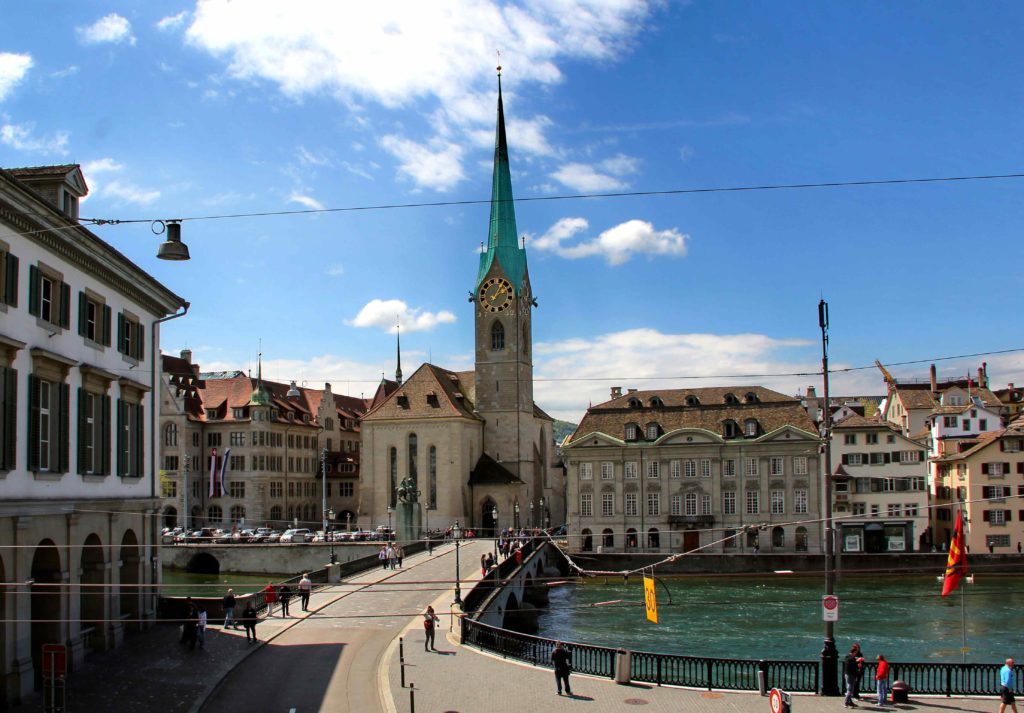Фраумюнстер в Цюрихе