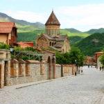 Город Мцхета в Грузии