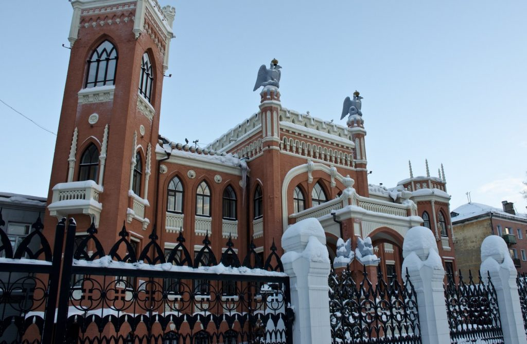 Дворец купца Булычева в Кирове