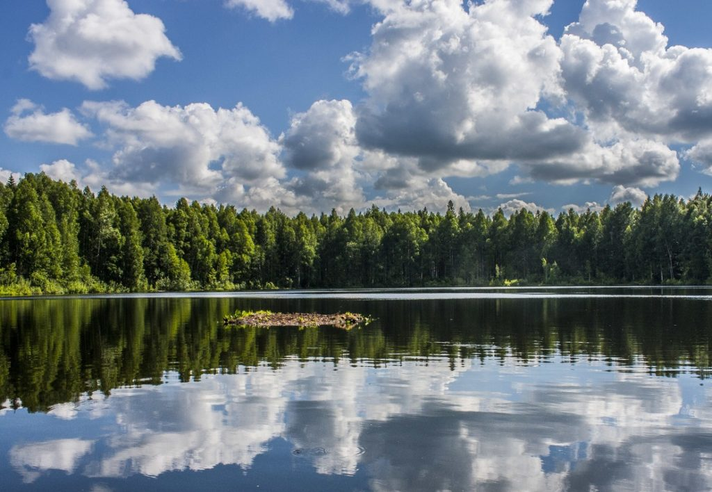 Озеро Шайтан близ Кирова