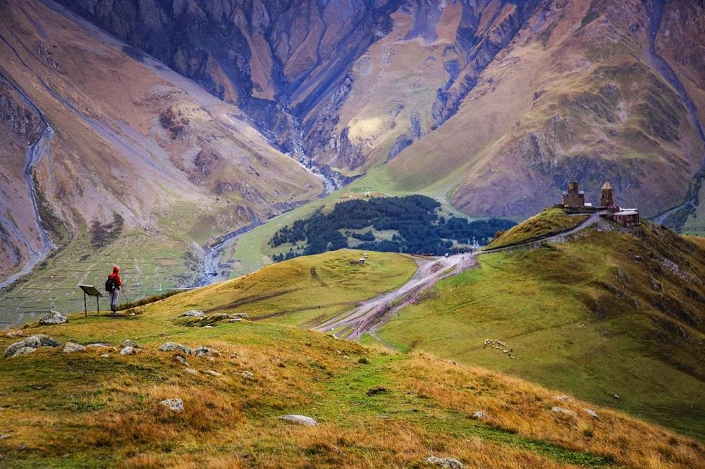 Национальный парк Казбеги в Грузии