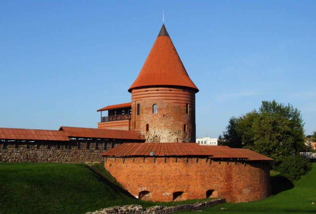 Замок в г.Каунас, Литва
