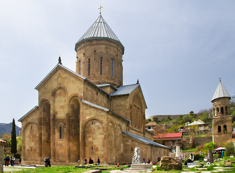 Женский монастырь Самтавро в Мцхете