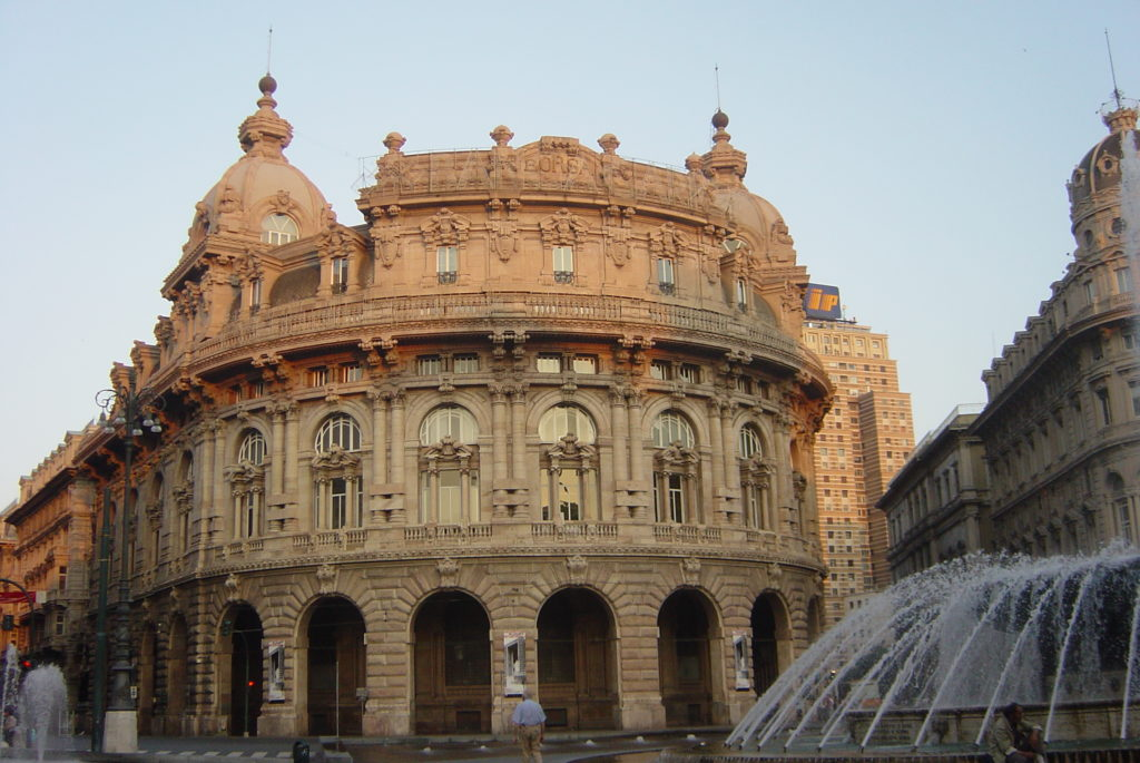 Палаццо-делла-Борса, Генуя