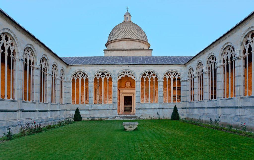 Монастырь Кампо Санто в Пизе