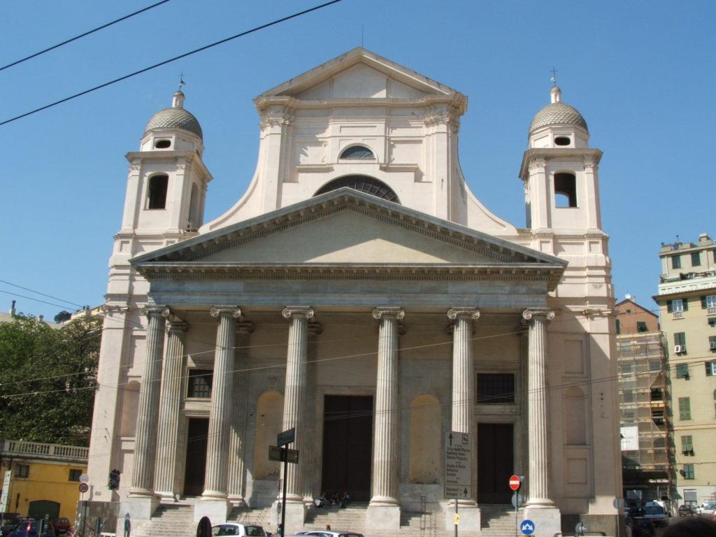 Базилика Сантиссима Аннунциата, Генуя
