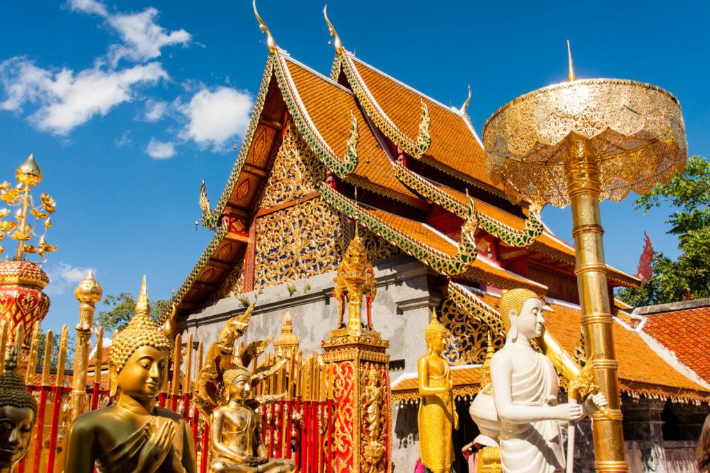 Храм Дой Сутхеп в Чиангмае