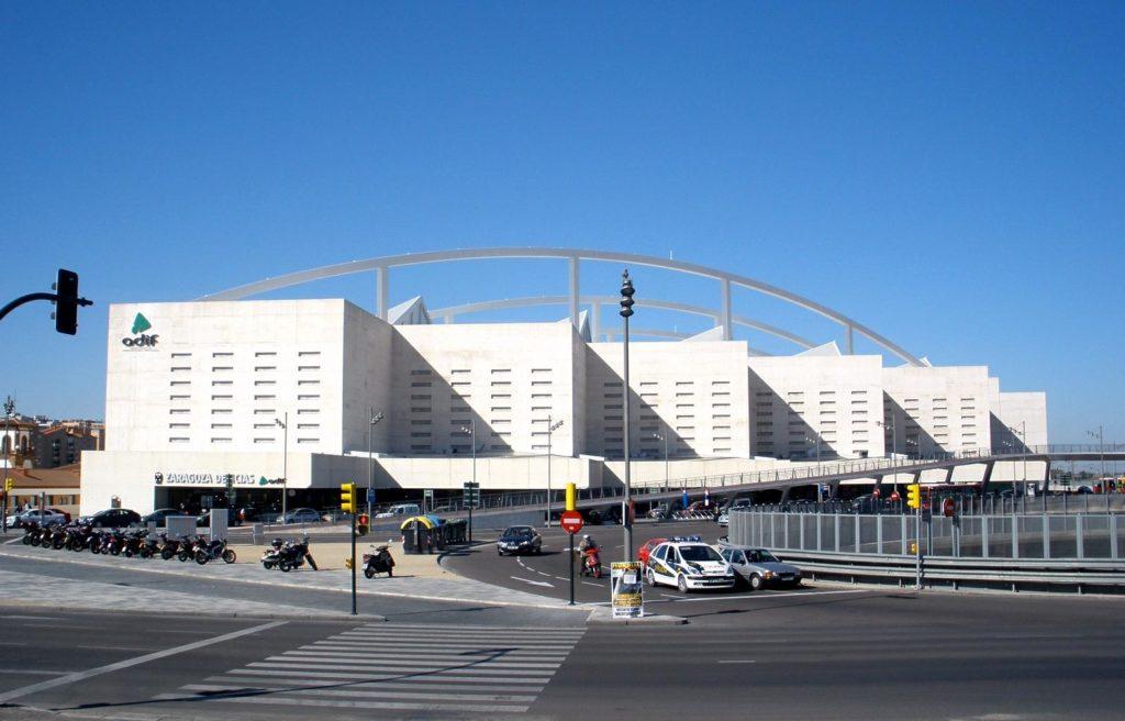 Железнодорожный вокзал Сарагосы, Испания