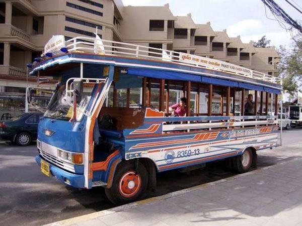 автобус до пляжа