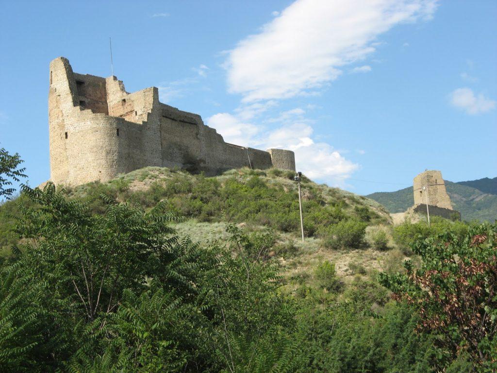 Крепость Бебрисцихе в Мцхете
