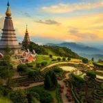 Город Чиангмай в Тайланде