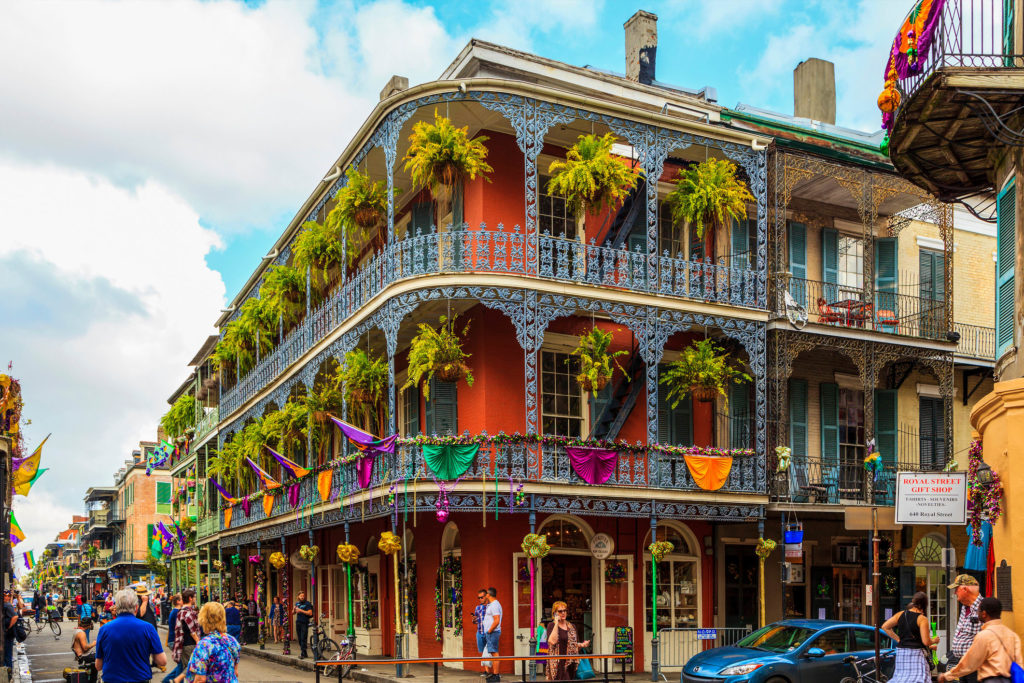 Французский квартал Нового Орлеана