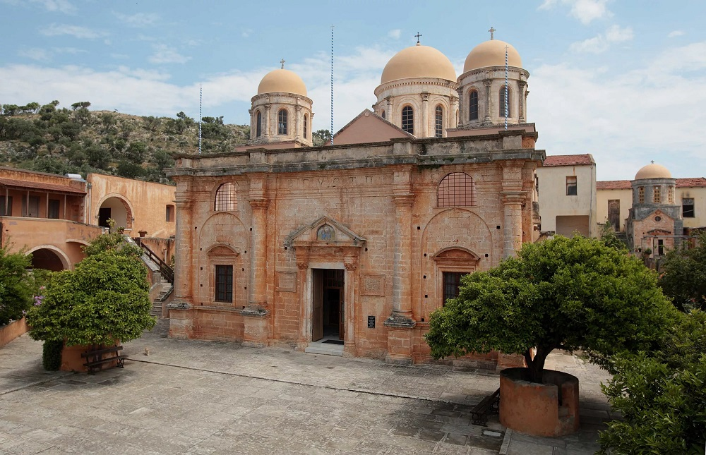 Монастырь Агии Триады близ Ханьи