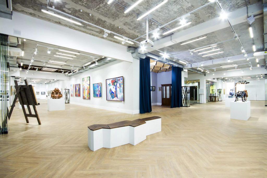 Галерея современного искусства В.Бронштейна в Иркутске