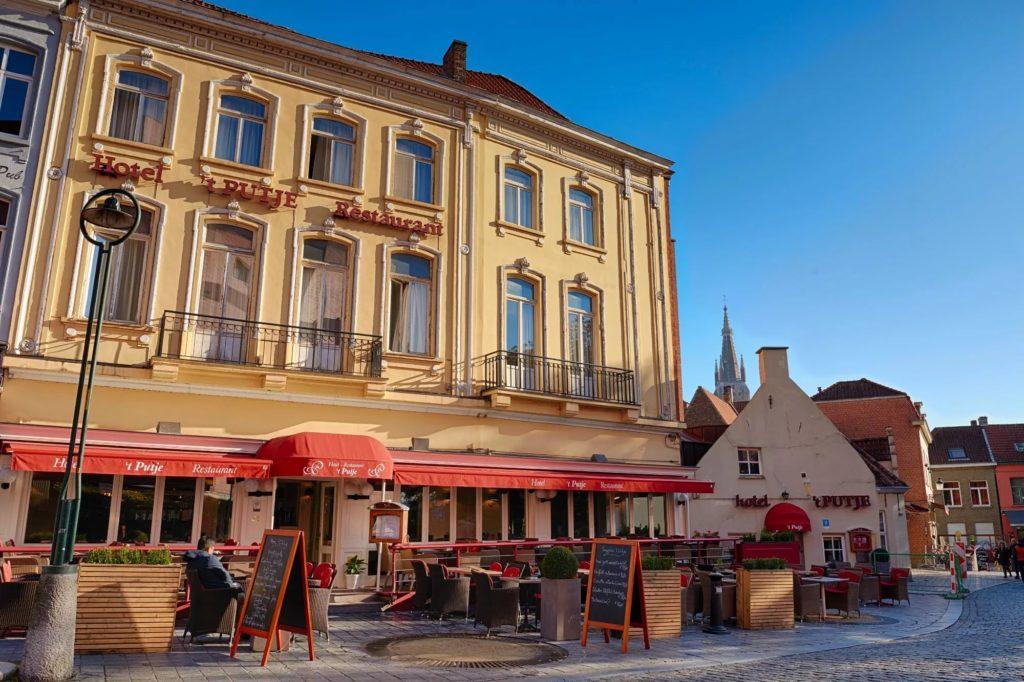 """Отель """"Hotel 't Putje"""" в Брюгге"""