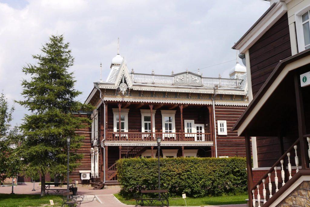 Дом купцов Шастиных (Кружевной дом) в Иркуртске