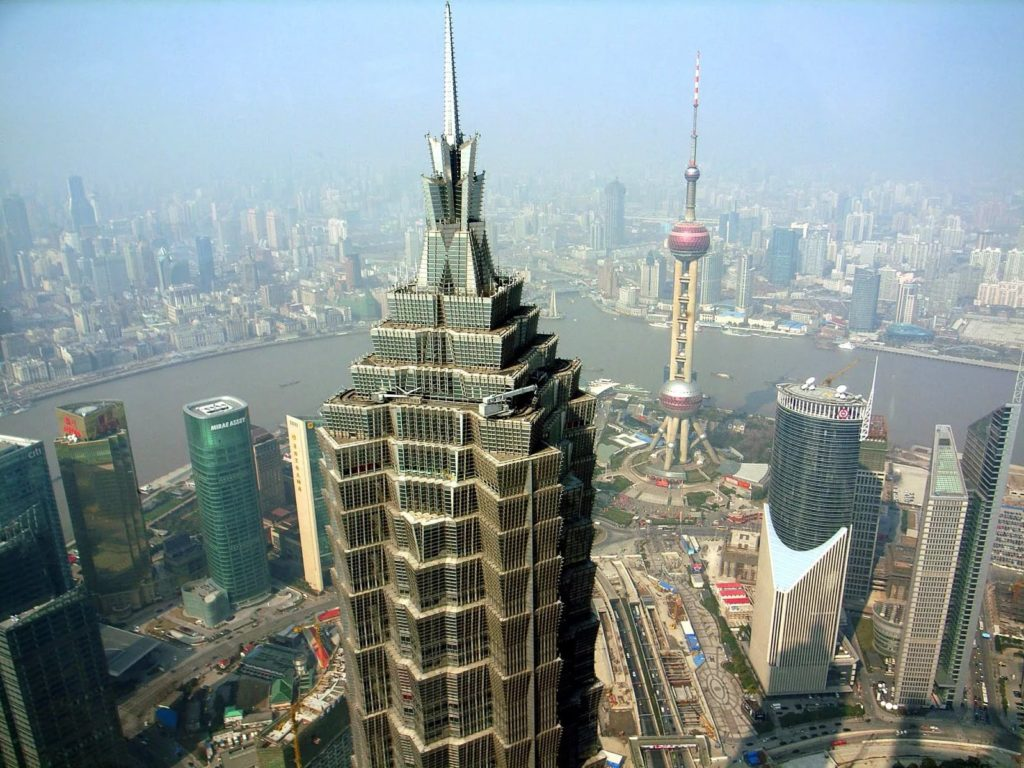 Небоскреб Цзинь Мао в Шанхае
