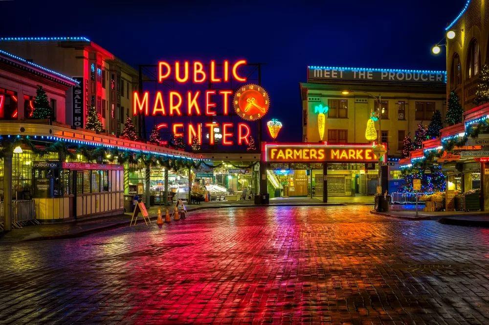 Рынок Пайк-Плес-маркет в Сиэтле
