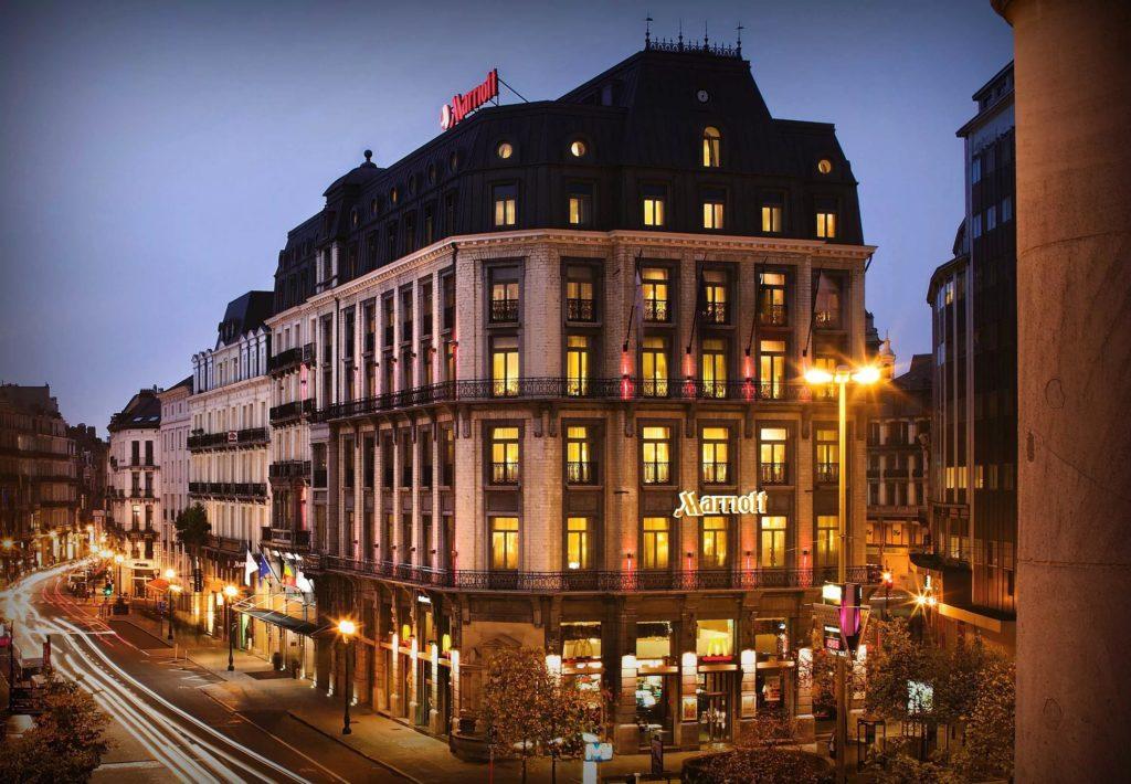 Отель «Marriott» в Брюсселе