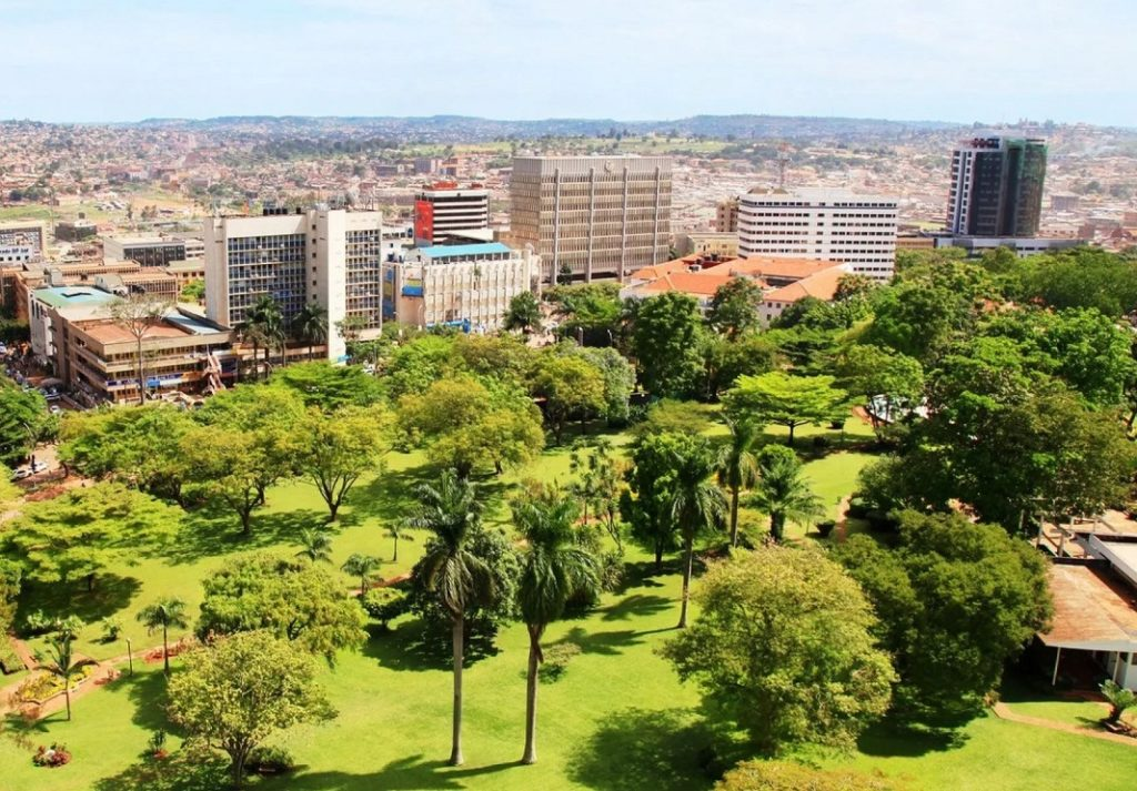 Кампала - столица Уганды, Африка