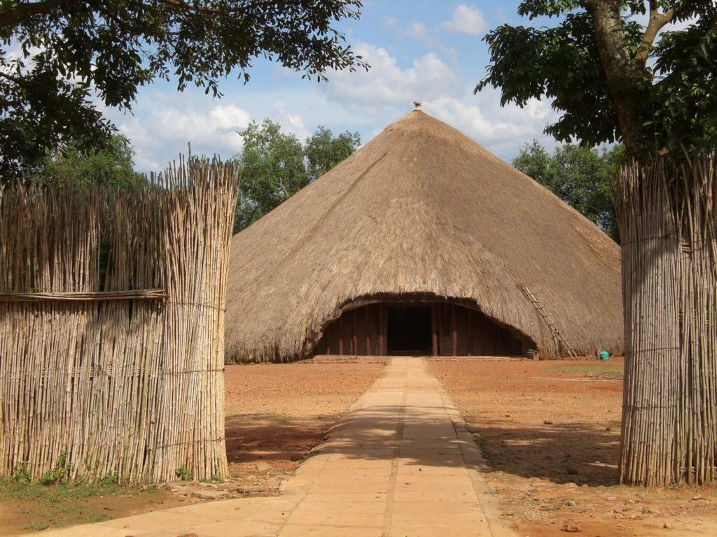 Захоронение королей Буганда в Касуби, Уганда, Африка