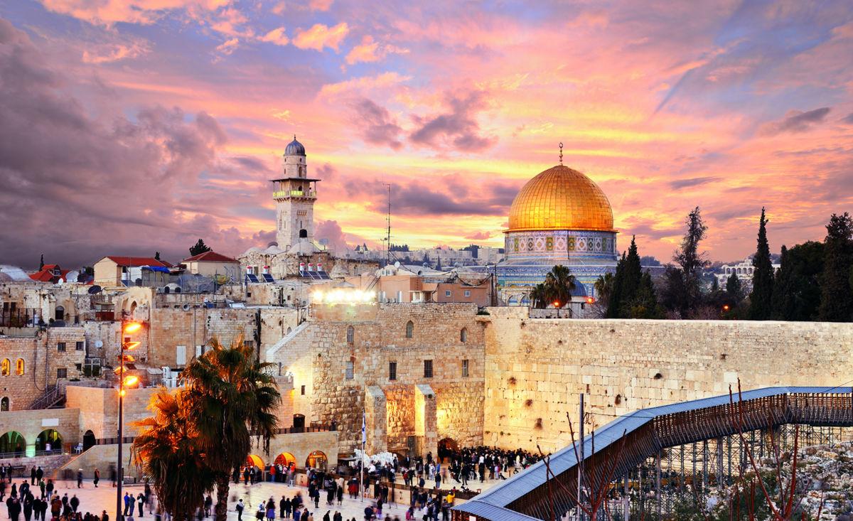 Старый город Иерусалима - святыни трех религий на одном кв. км