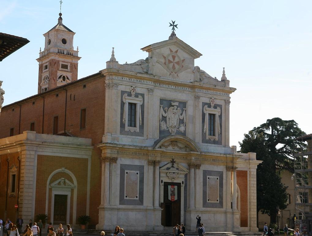 Церковь Санто Стефано деи Кавальери в Пизе