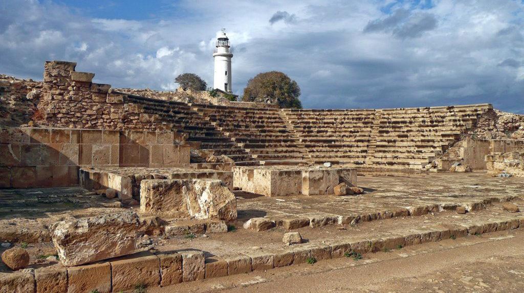 Археологический парк Като Пафос: Древний театр Одеон