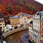 Город Карловы Вары в Чехии