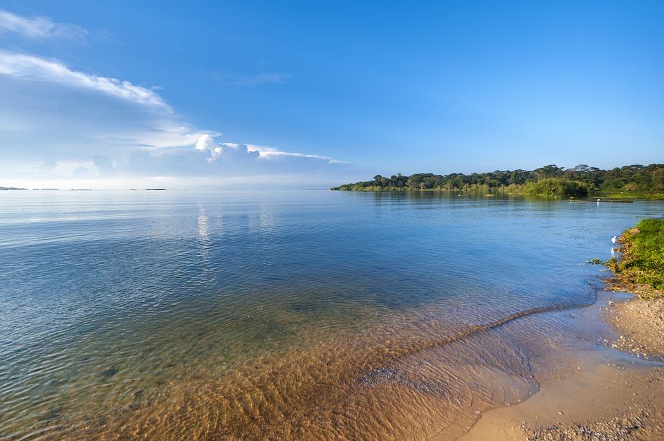 Озеро Виктория, Уганда, Африка