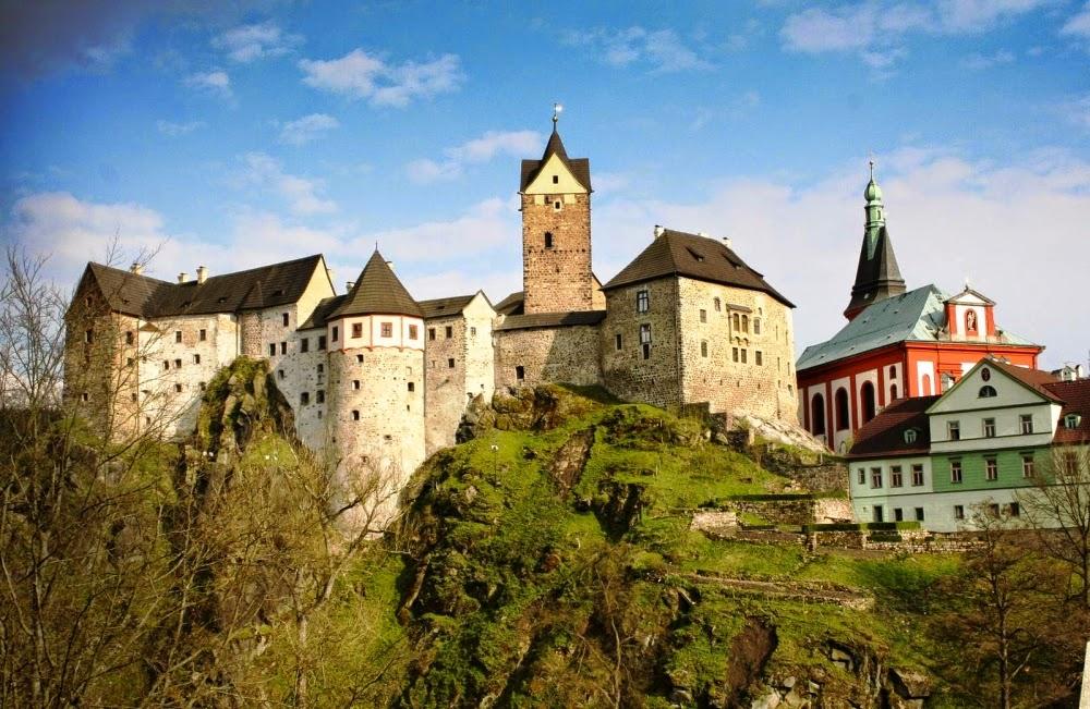 Замок Локет близ Карловых Вар, Чехия