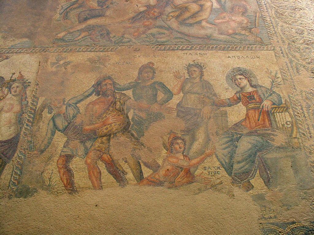 Пафосские мозаики, дом Диониса, Пафос