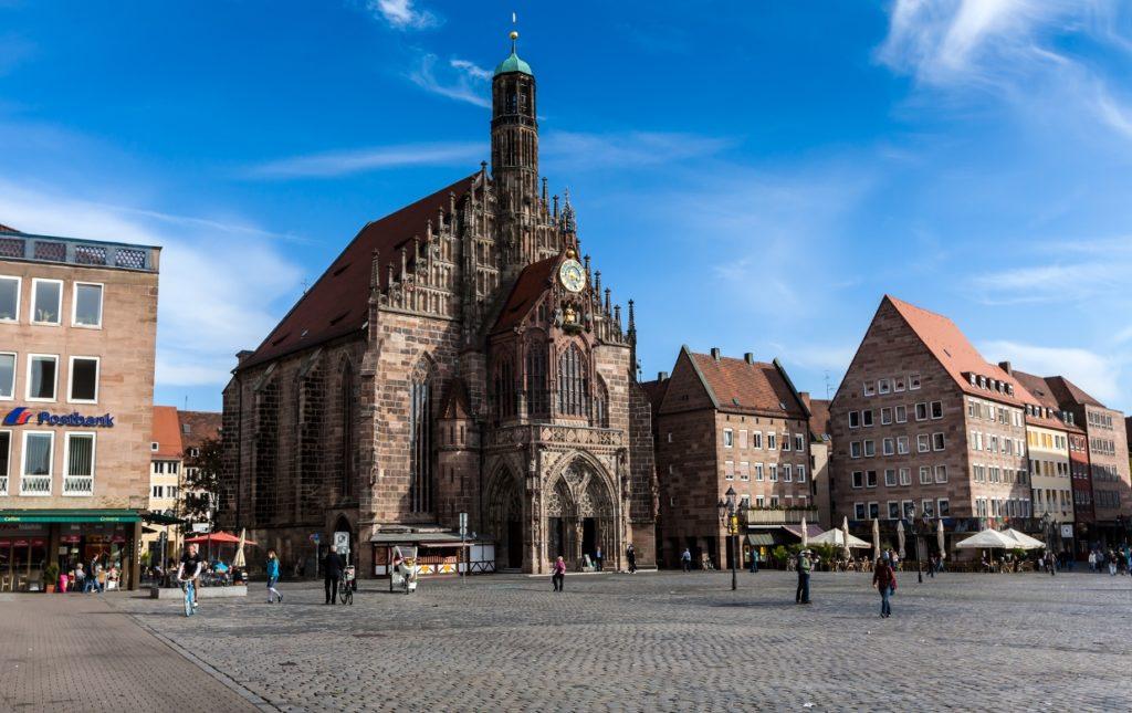 Католическая церковь Девы Марии (Фрауэнкирхе), Нюрнберг