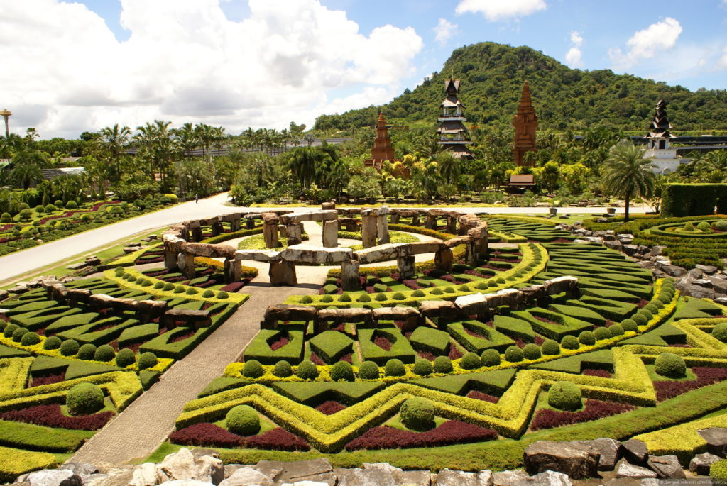 Сад «Нонг Нуч» в Паттайе