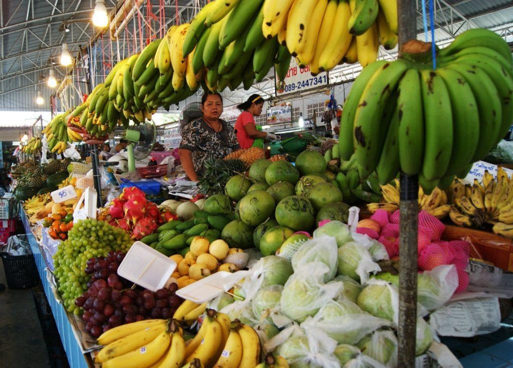 Фруктовый рынок Паттайи