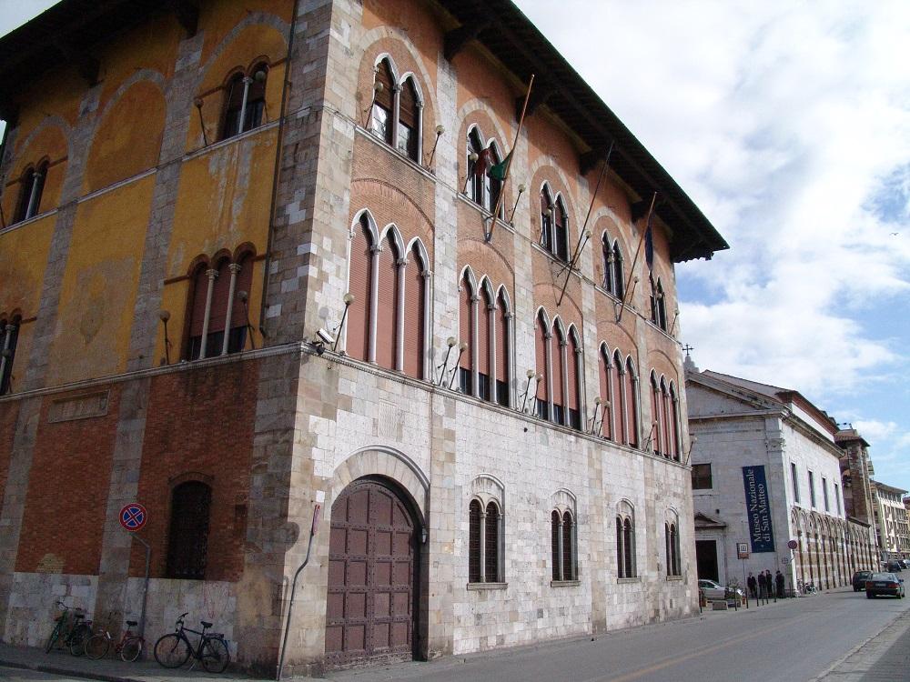 Дворец Медичи в Пизе