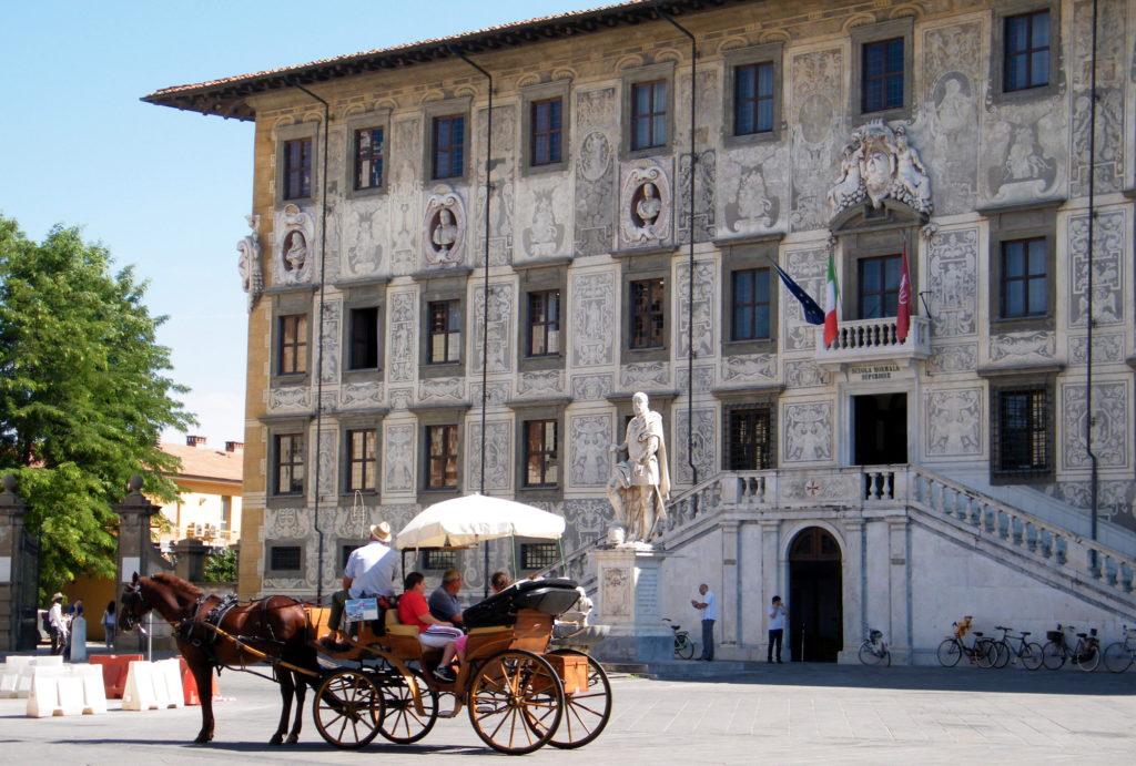 Палаццо-делла-Карована в Пизе