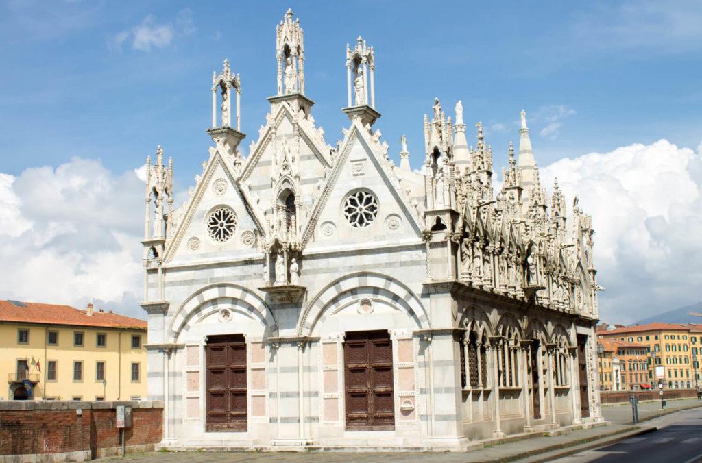 Церковь Санта Мария делла Спина в Пизе