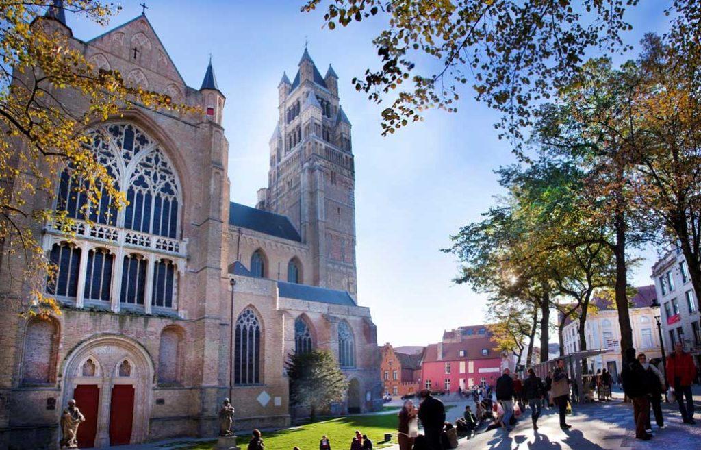 Кафедральный собор Христа Спасителя в Брюгге