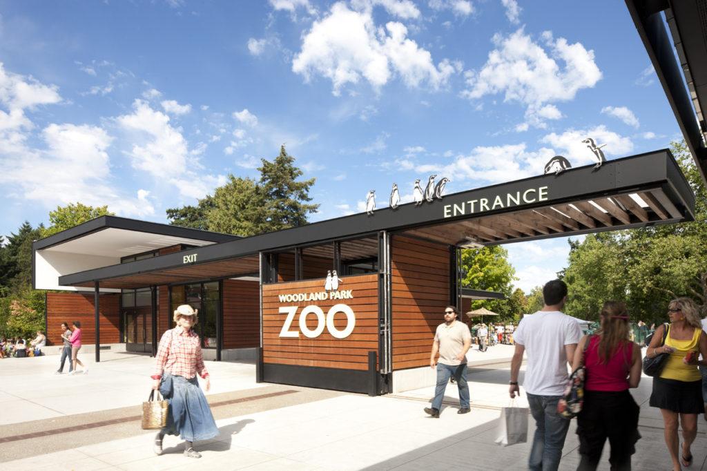 Зоопарк Вудлен в Сиэтле