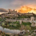 Город Толедо в Испании