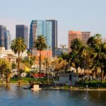 Город Лос-Анджелес в США
