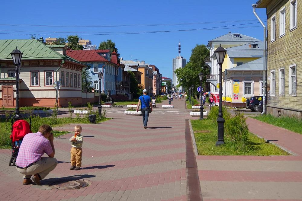 Проспект Чумбарова-Лучинского в Архангельске