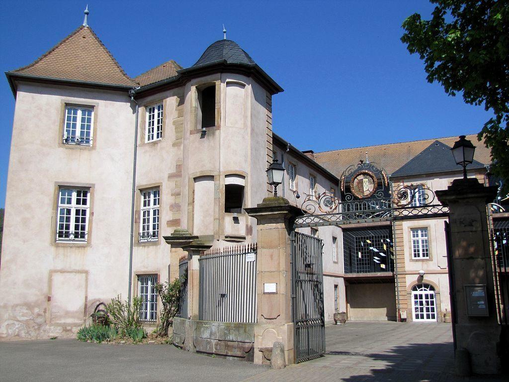 Замок Роган в Мютзиге (близ Страсбурга)