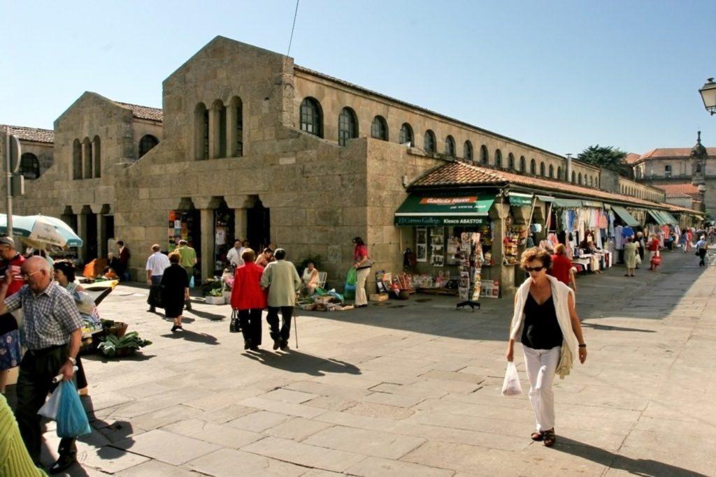 Рыночная площадь Сантьяго-де-Компостела