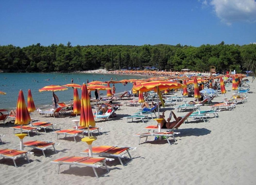 Пляж Плави Горизонти в Тивате