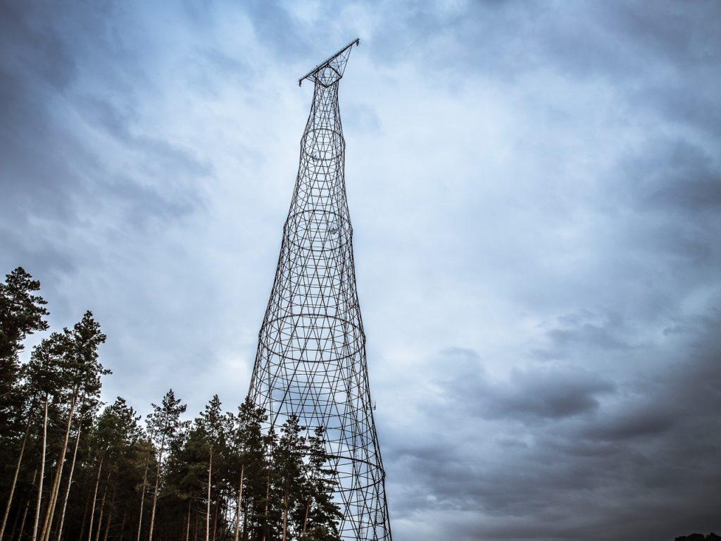Шуховская башня близ Дзержинска