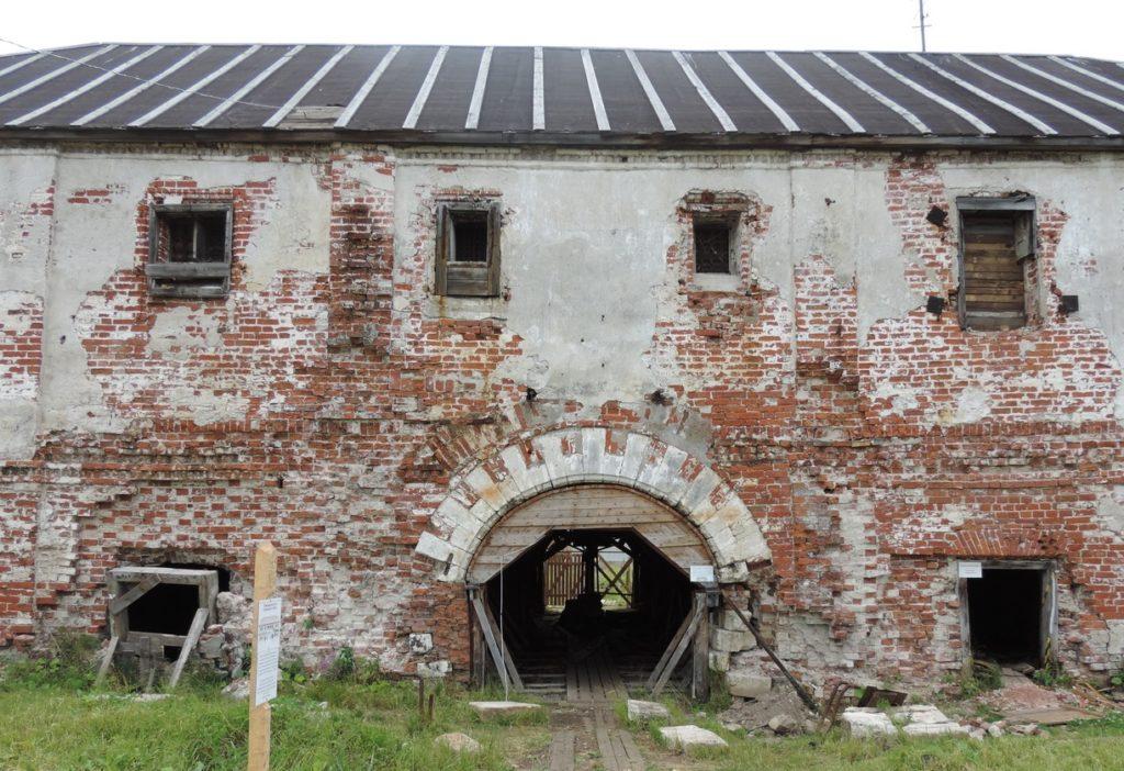 Новодвинская крепость близ Архангельска