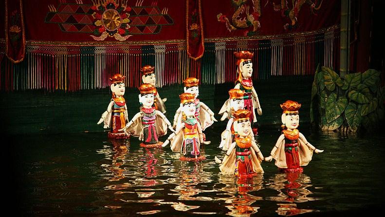 Кукольный театр на воде, Хошимин